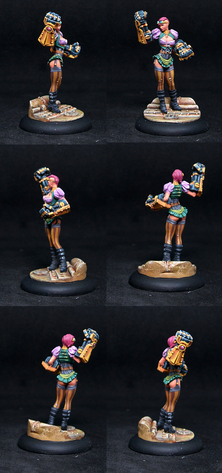 Scale75 35mm Nancy Steelpunch,female,steampunk