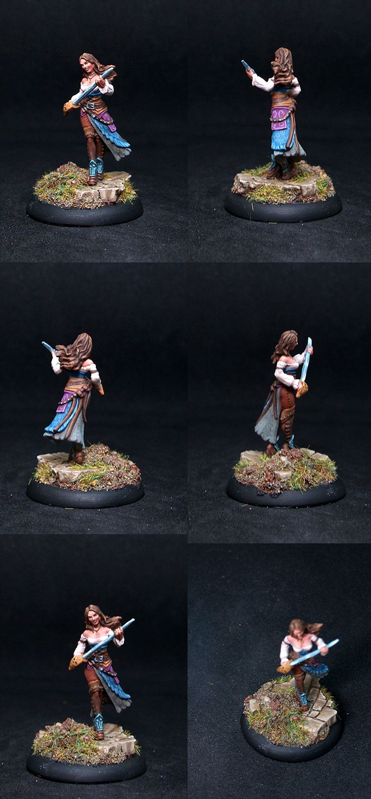 Warmachine Female Marcenary Mutineer
