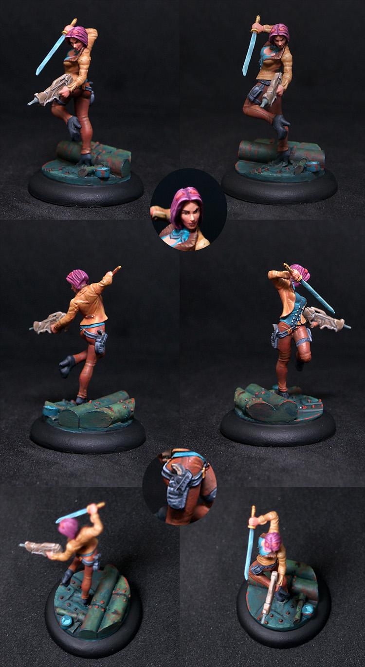 Authorized Female Bounty Hunter