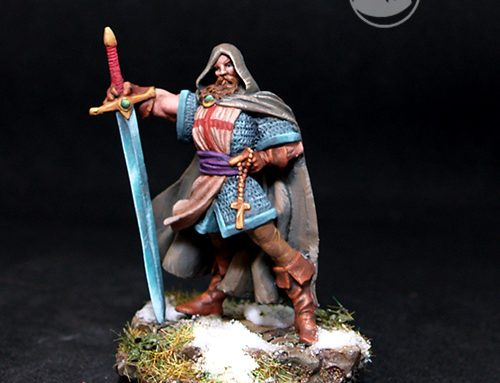 Noble Human Fighter, Arn de Gothia