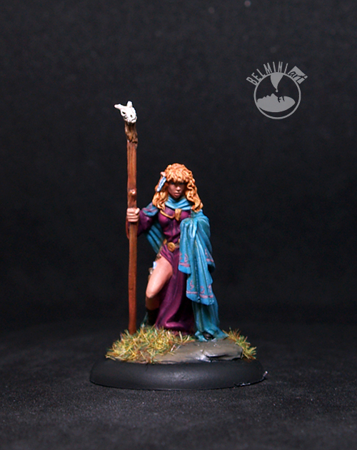 Female Elven Mage with Staff