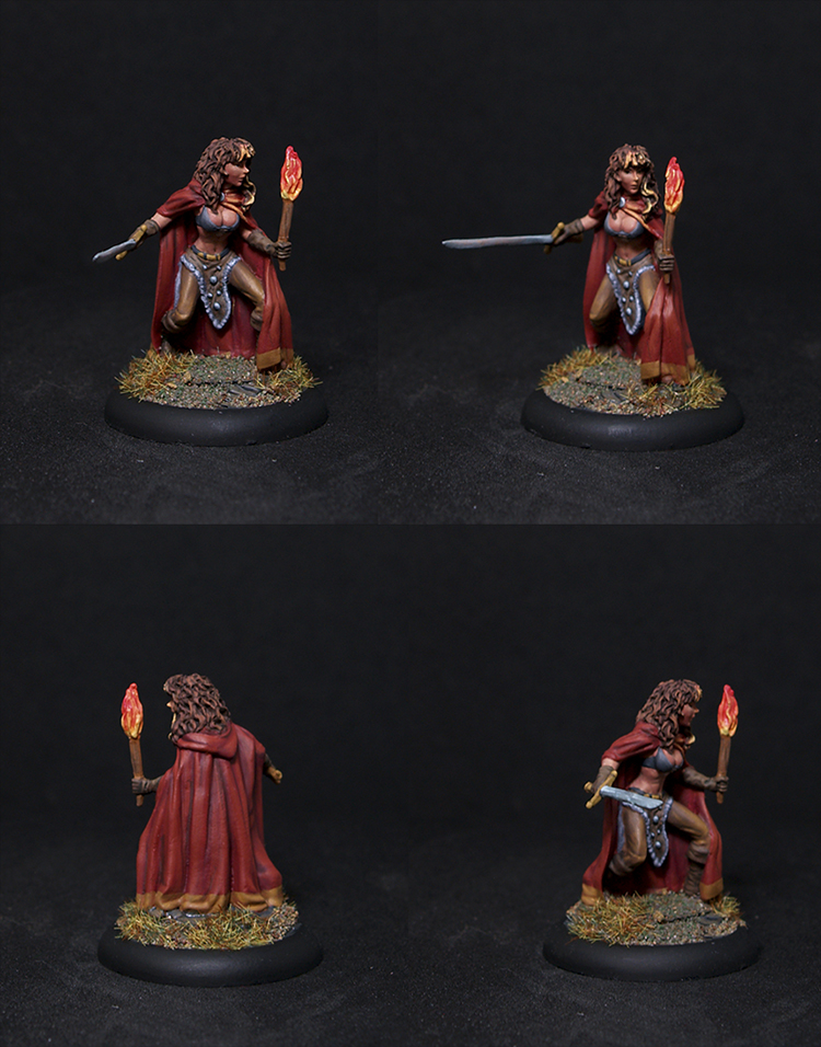 Female Rogue with Sword