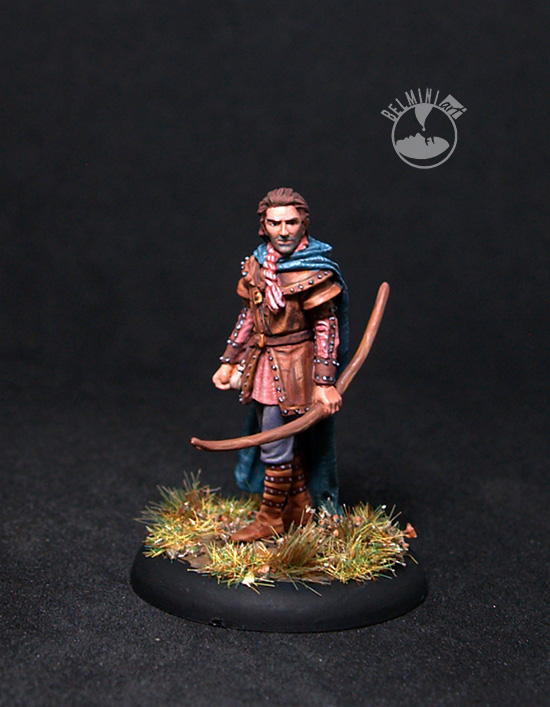 Male Ranger with Long Bow
