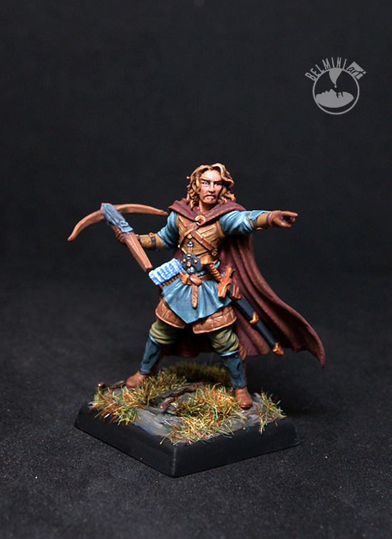 Male Warrior with Crossbow
