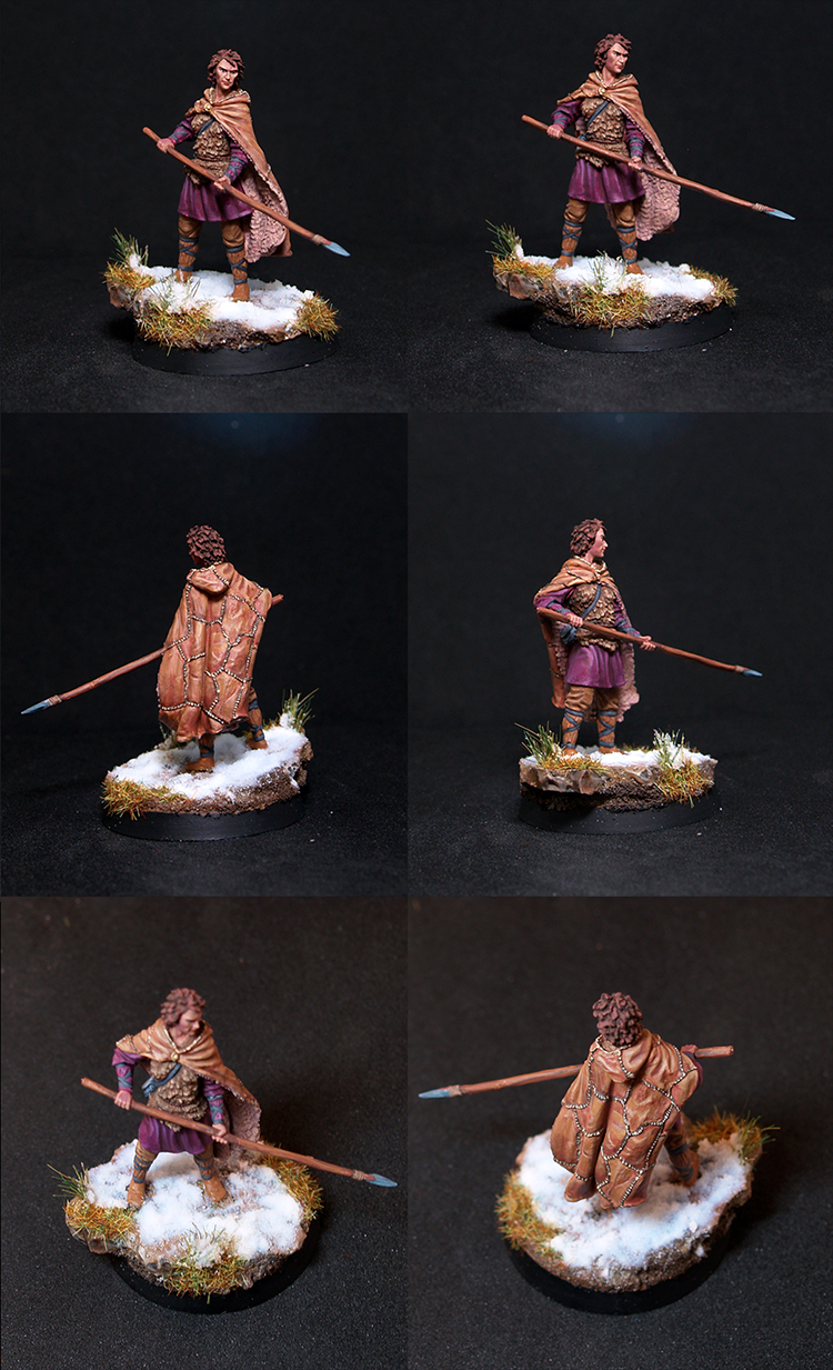 Osha - Female Wildling with Spear