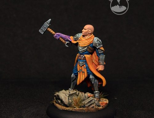 Male Wizard, Luther Draxos