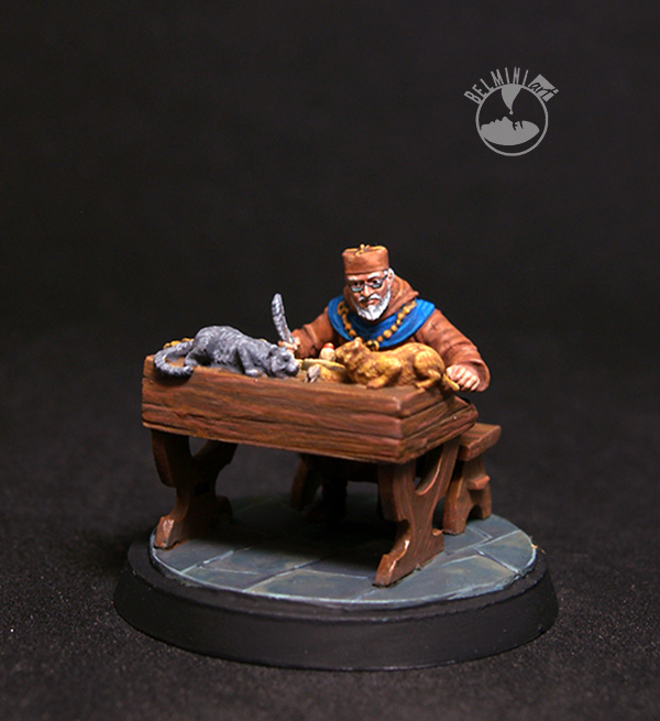 Scribe of Westeros at Writing Desk