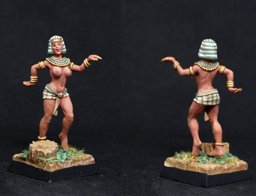 Female Egyptian dancer A