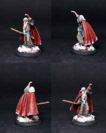 DSM7316 Ancient mage with Staff,male
