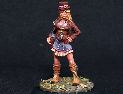 Steampunk Girl: Mary Fearless