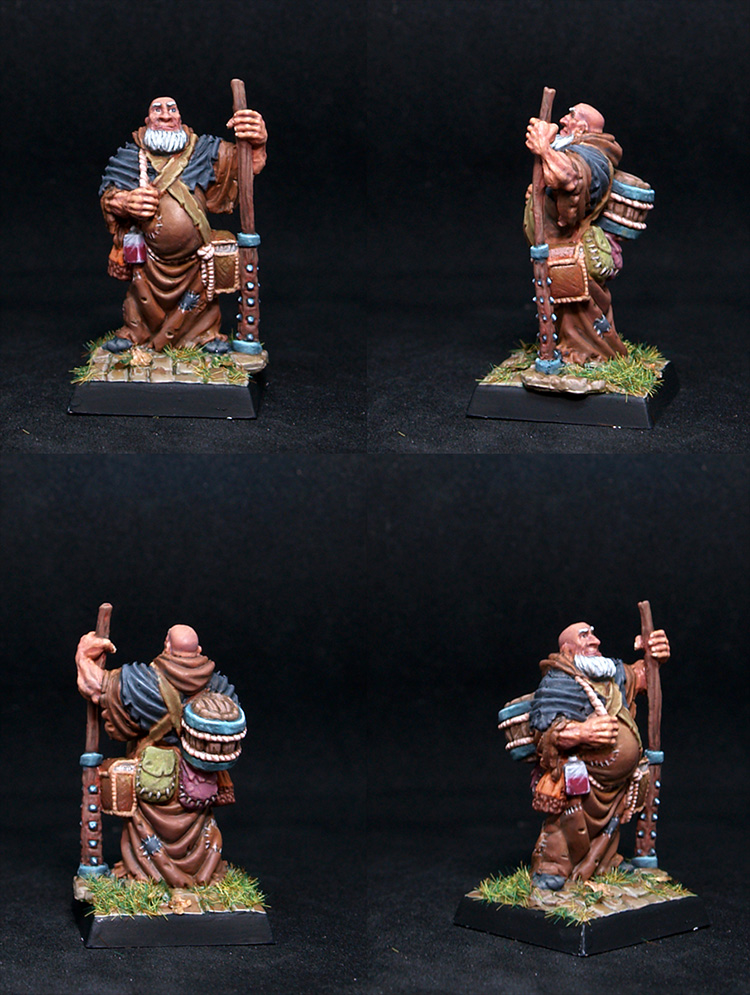 Friar Stones Traveling Monk,male