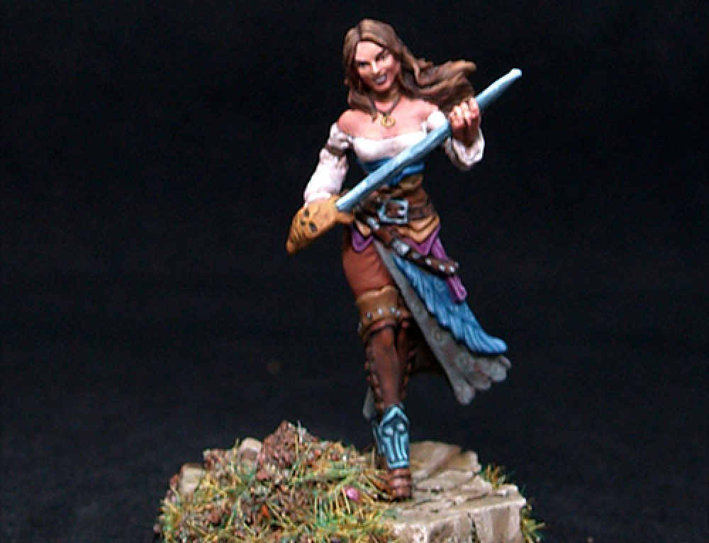 Female Marcenary Mutineer