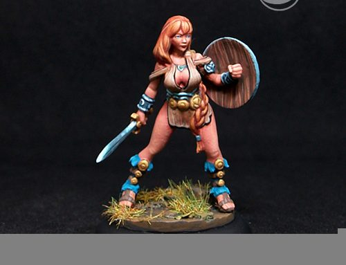 Artemisa Female fighter