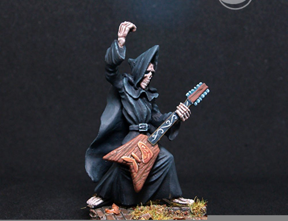 Discworld-Mort with Guitar