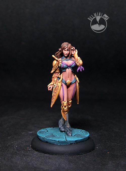 Zaida, Pin-Up Female Fighter