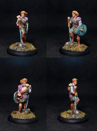Young Male Barbarian