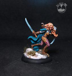 Female Wood Elf Warrior