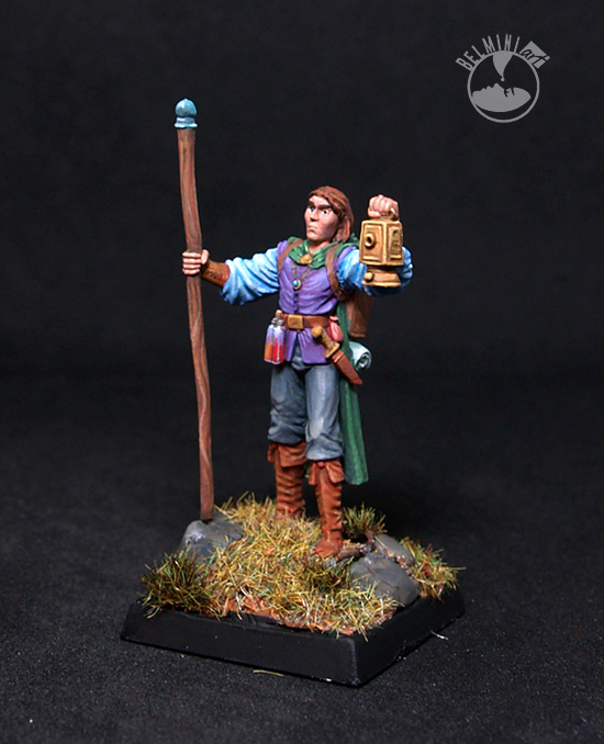Male Wizard with Staff