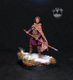 Osha - Female Wildling with Spear