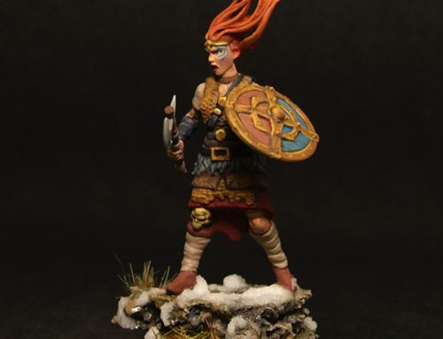 Female barbarian I