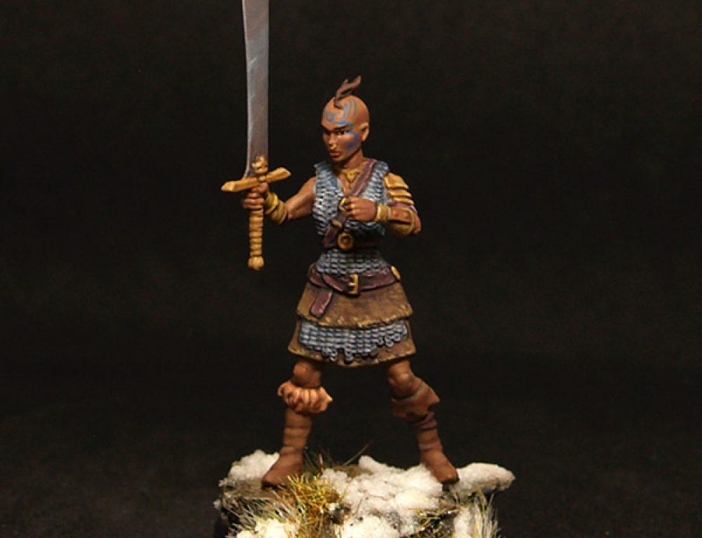 Female barbarian II