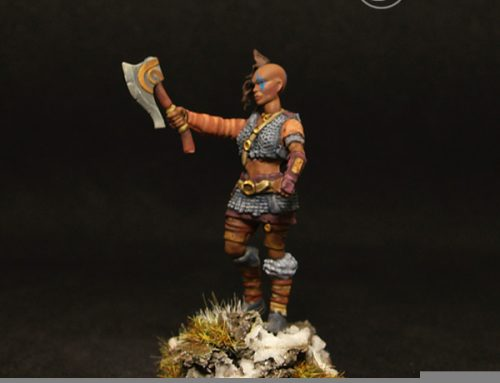 Female barbarian III