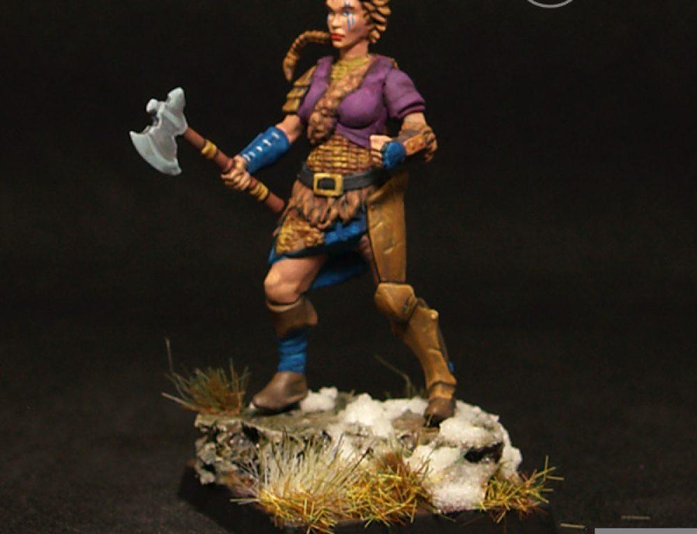 Female barbarian IV