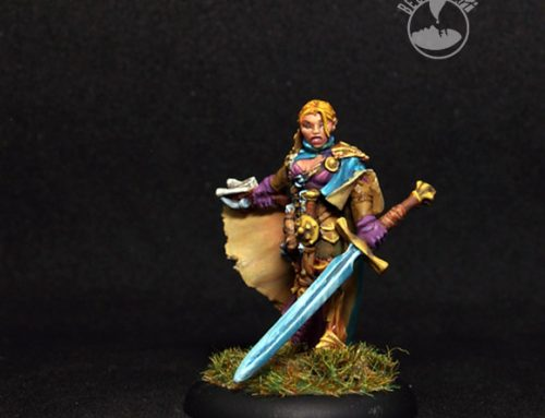Shaedra, Female Paladin