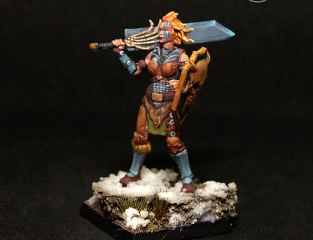 Helga Female Barbarian Swordmaiden
