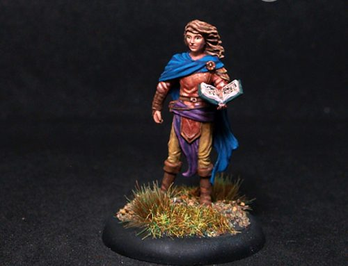 Male Cleric with Tome