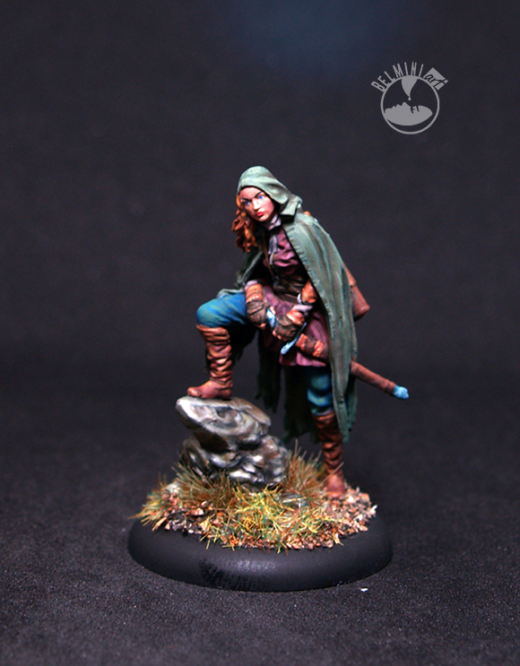 Nocturna Models - The Quest-Aileen Female Rogue