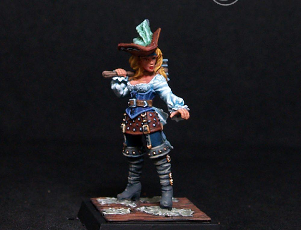 Eugenie- Female Pirate