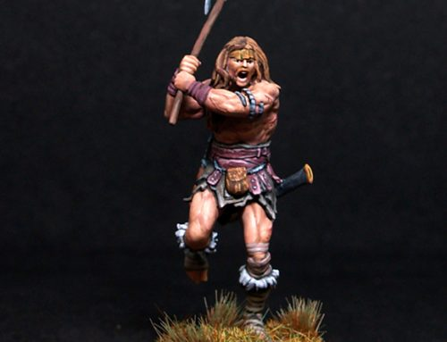 Male Barbarian :Thunder