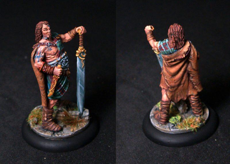Black Sun barbarian Chieftain