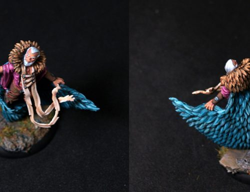 Male Druid Obulus, the Ferryman