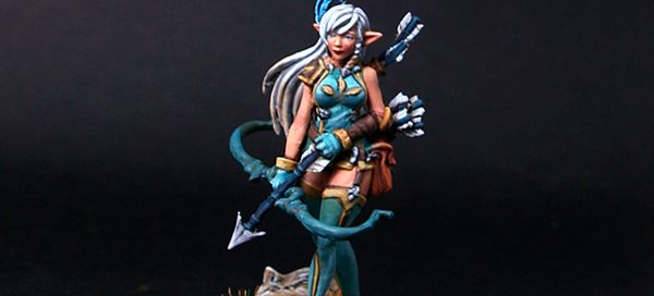 Elaina-Female Elf Archer