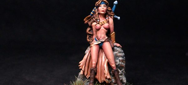 Female Amazon at Rest
