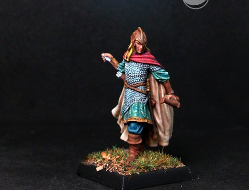 Male Elven Adventurer with Bow