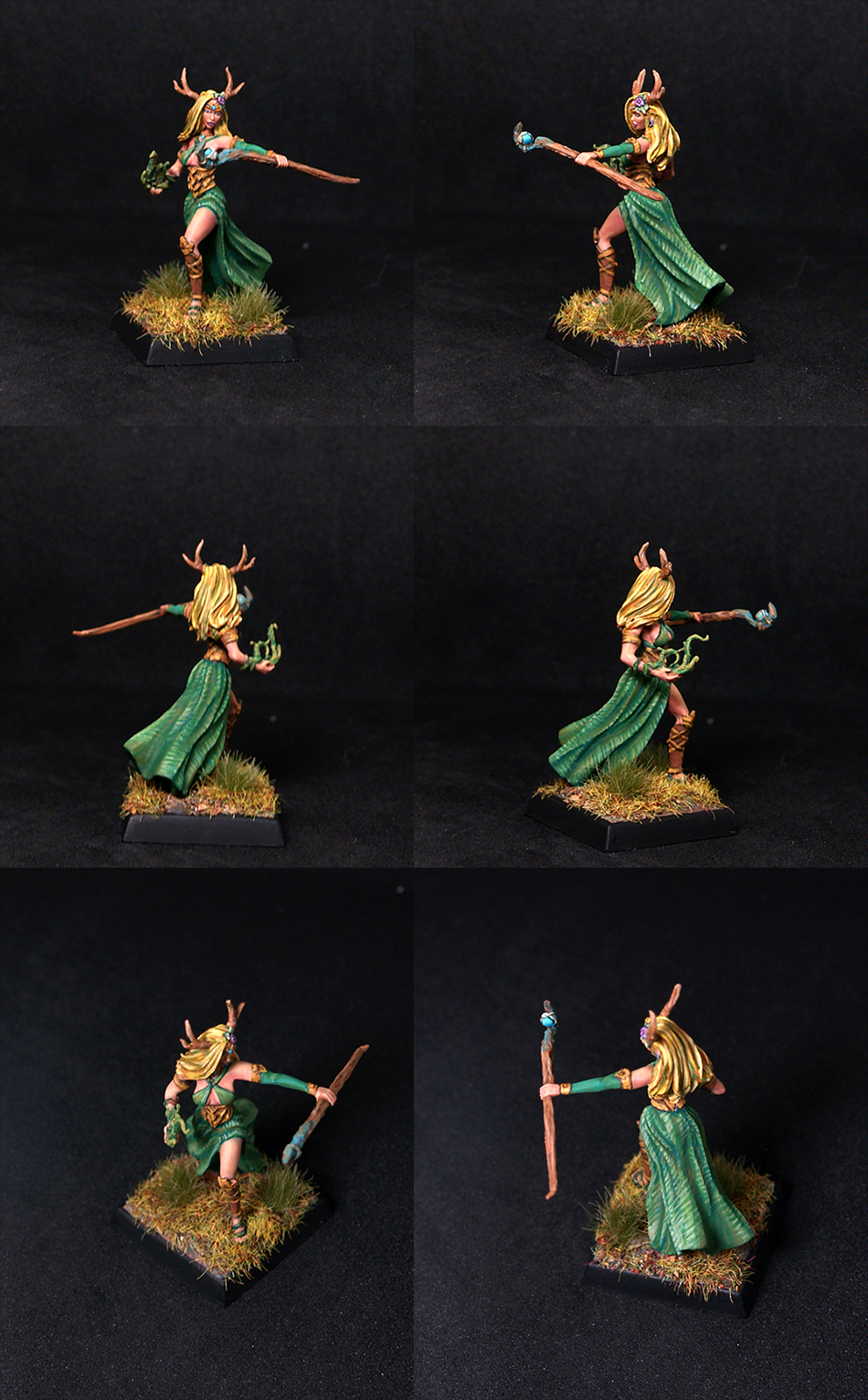 Female Druid with Staff