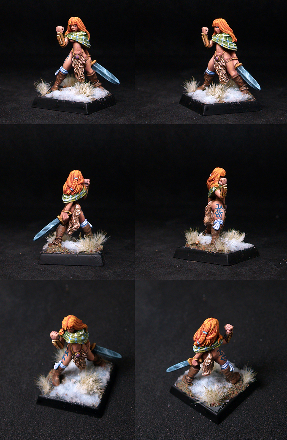 Lorna the Huntress, Female Barbarian