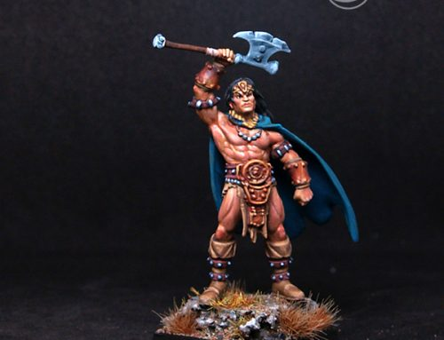 Male Barbarian Chief Nolar