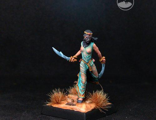 Female Veiled Assassin