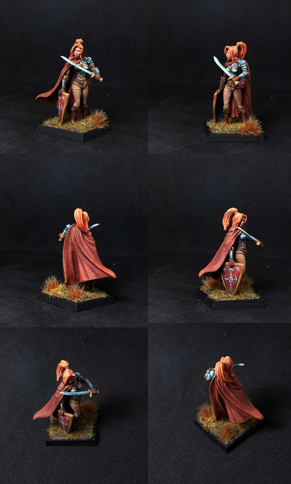 Female Warrior/Cleric with Sword