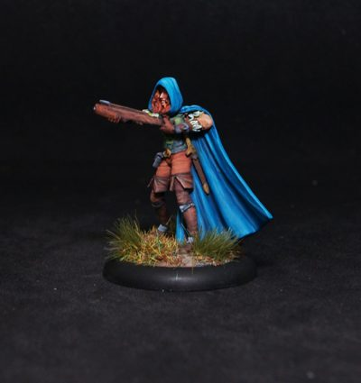 Female Warrior with Crossbow