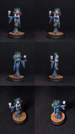 Female Diabolist- Sorceress