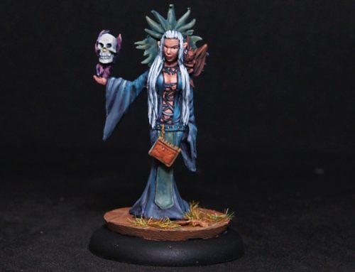 Female Diabolist- Sorceress