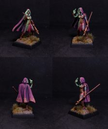 Female mage with Spear