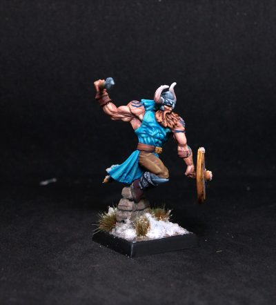 Amon Frostspear, Viking Hero