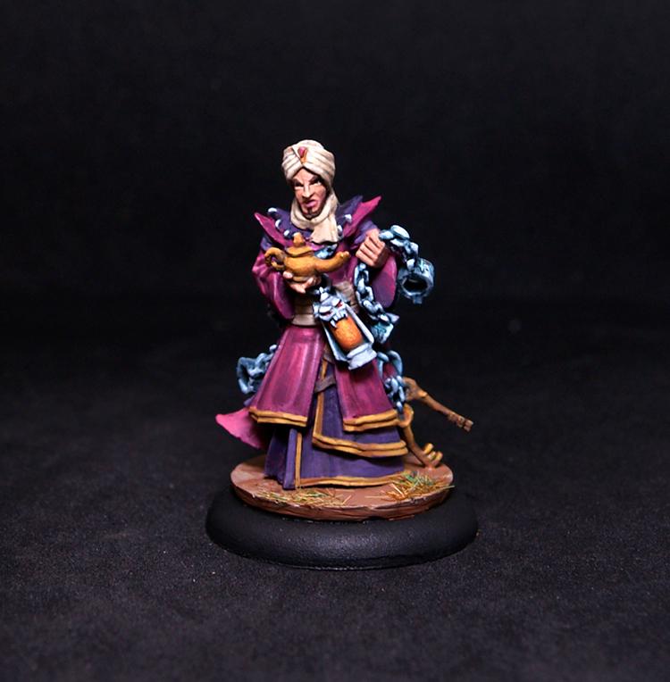 Male Genie Binder Wizard