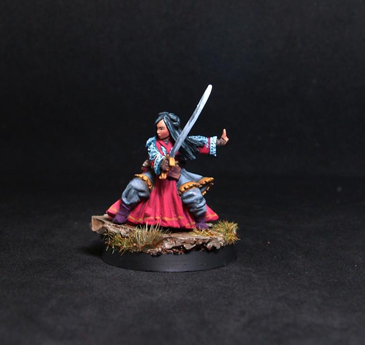 Female Warrior Wu Ling Shu
